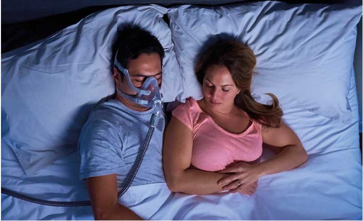 CPAP mask issue in bed with partner ResMed blog in UK
