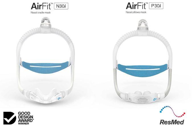 ResMed AirFit P30i & N30i CPAP Masks Earn Awards